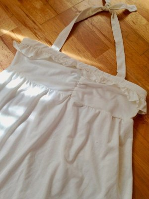 Urban Outfitters Robe Babydoll blanc