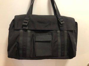 Mandarina Duck Laptop bag black mixture fibre