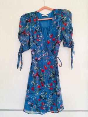 NEU Mango Kleid  - Wrap dress! Blumenkleid, Sommerkleid