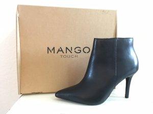 NEU! Mango Premium Leder Stiefeletten Gr 38