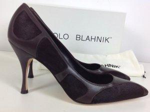 NEU Manolo Blahnik Schuhe braun Gr. 38
