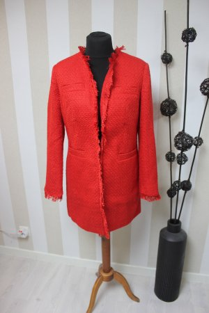 NEU MANTEL JACKE BOUCLE TWEED
