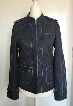 Marc Jacobs Veste militaire bleu foncé-bleu azur coton