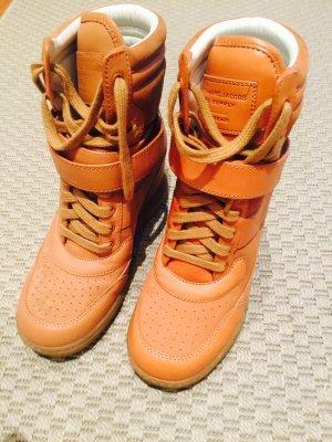 NEU Marc Jacobs Wedge High Top Sneakers (versteckter Keilabsatz) Gr. 37