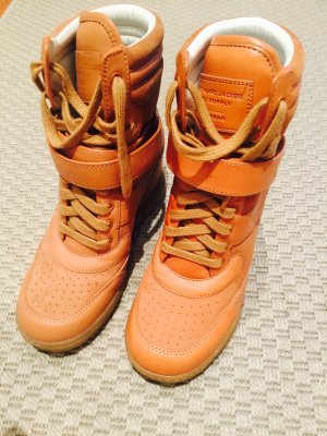 NEU Marc Jacobs Wedge High Top Sneakers (versteckter Keilabsatz) Gr. 37