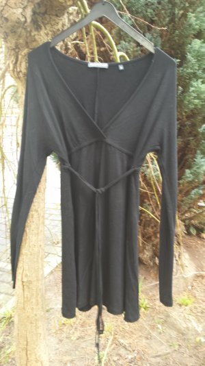 neu Marc O Polo Kleid Minikleid Tunika Wickelkleid 92 % Viscose Schwarz S,M