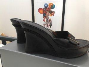 NEU Marc O'Polo Leder Wedges mit 10 cm Absatz