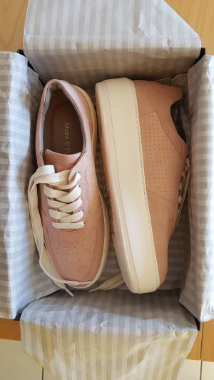 NEU Marc O'Polo Wildleder Sneaker Plateau rosé