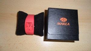 Neu! Marea Uhr Pink Silikon Armband .