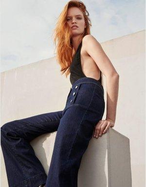 Raffaello Rossi Marlene jeans donkerblauw Katoen