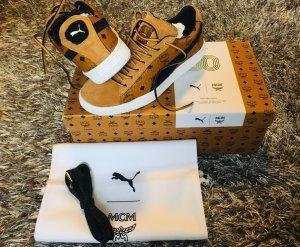 MCM Lace-Up Sneaker cognac-coloured