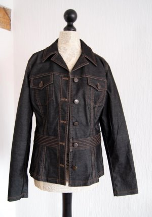 Mexx Veste en jean noir coton