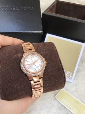 NEU Michael Kors Armbanduhr für Damen Mini Camille Rosegold Strass