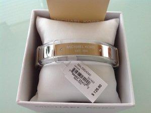 Michael Kors Armlet white-light grey stainless steel