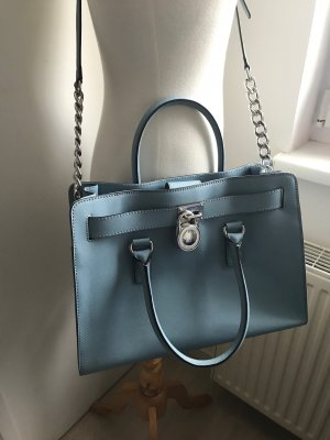 NEU!!! * Michael Kors * Hamilton * Satchel * powder blue * NEU!!!