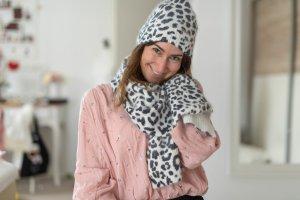 NEU Michael Kors Schal Leopard
