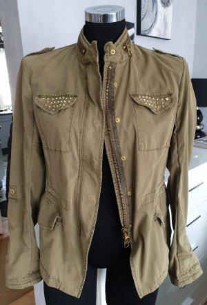 Milestone Military Jacket khaki