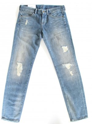 7 For All Mankind Slim Jeans cornflower blue cotton