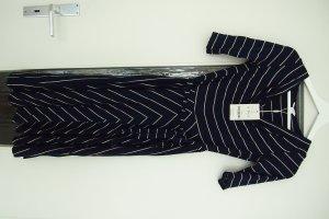 neu mit Etikett! blaues Kleid gestreift, weiter Rock Größe 34 von Monsoon