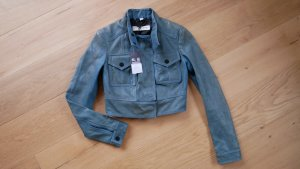 Burberry Leather Jacket multicolored leather