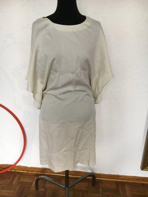 Neu mit Etikett Calvin Klein Kleid weiß Eierschale ideal fürs Standesamt 38 M Creme