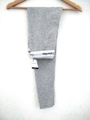 NEU! Mit Etikett Calvin Klein Leggings grau S Hose CK