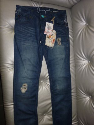 #Neu mit Etikett - Desigual Slim Fit Jeans