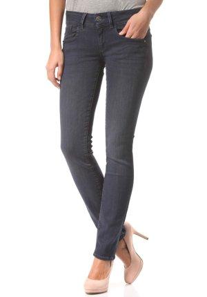 Neu mit Etikett - G-STAR Lynn Mid Straight W32 L34  - Ozmo Superstretch Damen Jeans Hose Slim