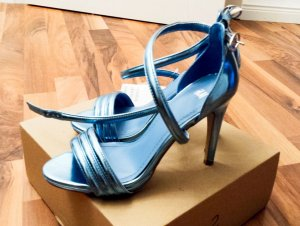 NEU mit Etikett, Heigh Heels, Absatz 11cm, Gr. 36, in angesagter Metallic Optik