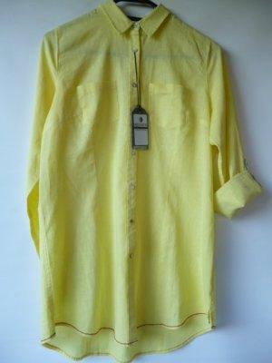 Neu mit Etikett // Hemd aus Leinen-Baumwoll-Mix // Gr. M