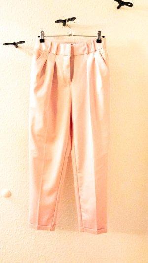 Reserved Hoge taille broek rosé Viscose
