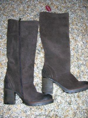 Neu mit Etikett! Komplett gefütterte Echt Leder Winter Stiefel von Marco Tozzi