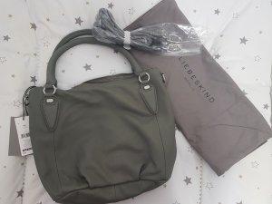 Liebeskind Berlin Handbag grey-dark grey leather