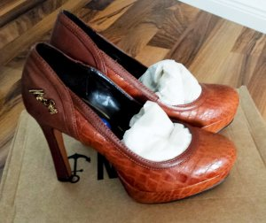 NEU mit Etikett!!! Plateau Heigh Heels von Miss Sixty aus echtem Leder, Absatz ca.10cm, Größe 36