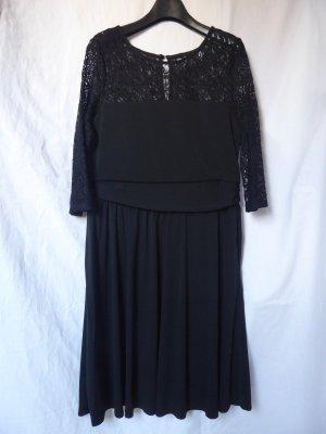 NEU mit Etikett: Schwarzes Kleid mit Spitze von Esprit
