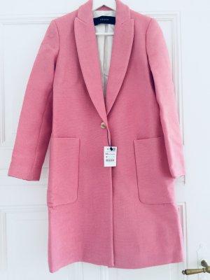 NEU MIT ETIKETT Strukturierter Mantel von Zara