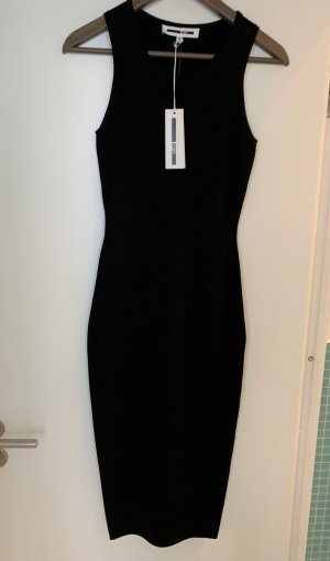 Alexander McQueen Tube Dress black viscose