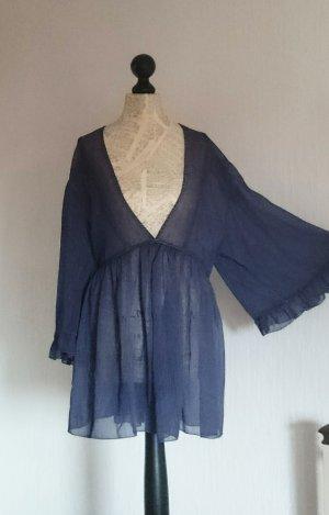 Alba Moda Tunique-blouse gris violet