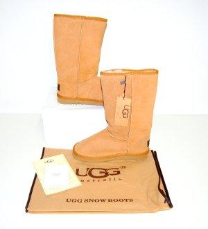 UGG Australia Stivale da neve marrone chiaro Pelle