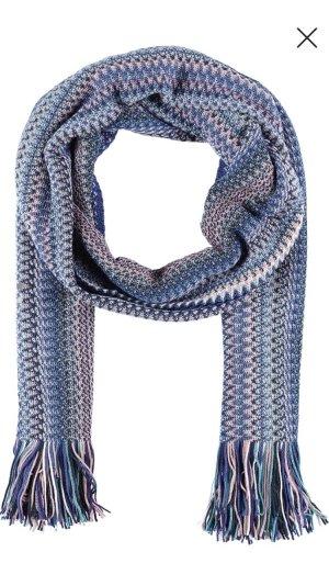 Missoni Écharpe à franges multicolore laine