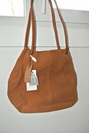 Mint&berry Shopper camel Suede
