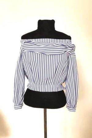 Neu mit Etikett! Zara Crop Bluse gestreift Blogger