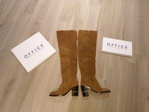 Office Overknees multicolored