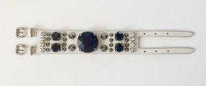 Neu: MIU MIU Lederarmband mit Swarovski-Kristallen