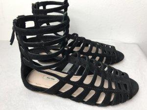 Neu Miu Miu Sandale schwarz Gr 37