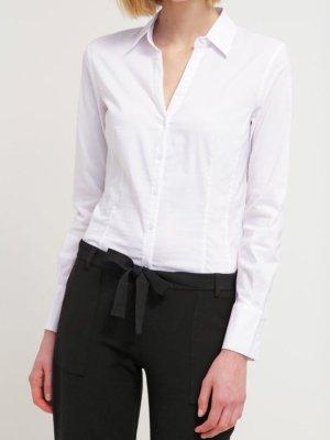 NEU More & More Bluse Weiß Gr. 36/S, originalverpackt, ursprünglich 39,99€