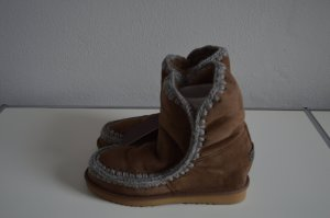 Neu: Mou Eskimo Stiefel Lammfell in braun Gr.40