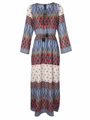 Best Connections Maxi Dress multicolored polyester