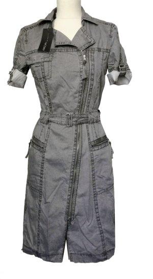 NEU N1 34 XS MARCCAIN Vintage Kleid dress silbergrau