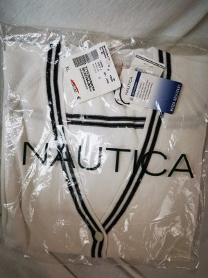NEU  Nautica Strickjacke weiß in XL